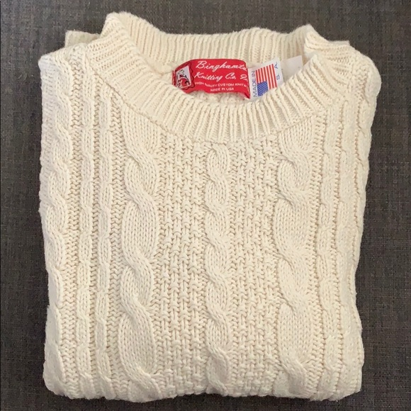 Other - Kids 100% cotton cable knit sweater